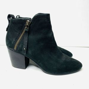 Steve Madden Julius Pointed Toe Suede Ankle Boots